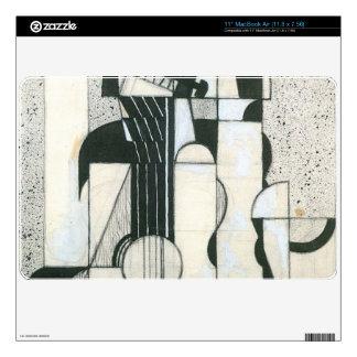 "Juan Gris - Still Life with guitar 11"" MacBook Air Skins"