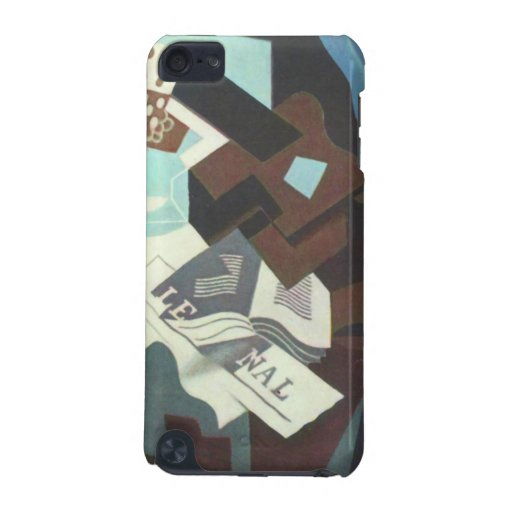 Juan Gris - Still Life with guitar book and newspa iPod Touch (5th Generation) Cover