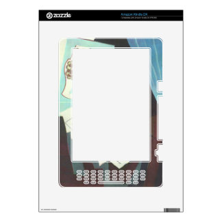 Juan Gris - Still Life with guitar book and newspa Decal For Kindle