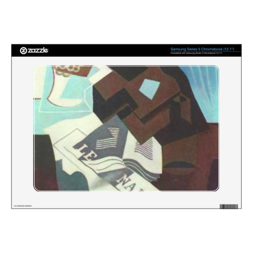 Juan Gris - Still Life with guitar book and newspa Samsung Chromebook Skins