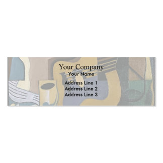 Juan Gris- Still Life with Guitar Double-Sided Mini Business Cards (Pack Of 20)