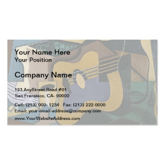 Juan Gris- Still Life with Guitar Double-Sided Standard Business Cards (Pack Of 100)
