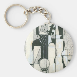 Juan Gris - Still Life with guitar Key Chain