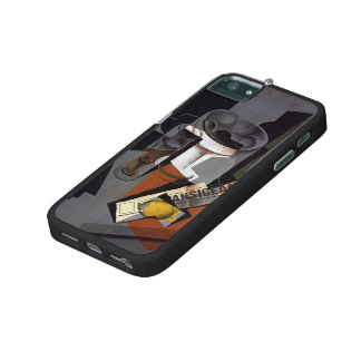 Juan Gris- Still Life with Newspaper iPhone 5/5S Cover