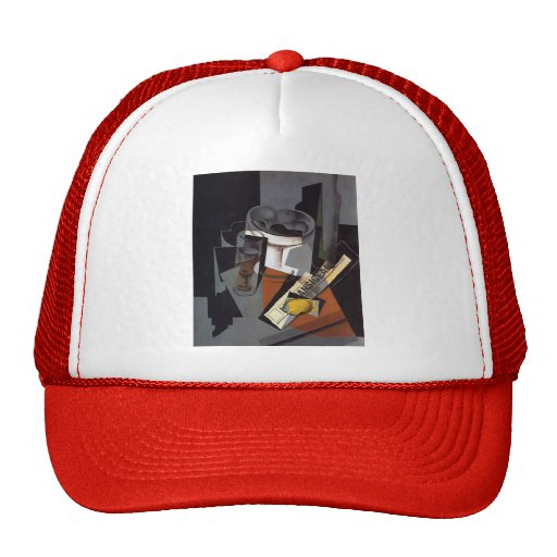 Juan Gris- Still Life with Newspaper Mesh Hats