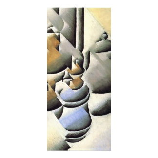 Juan Gris- Still Life with Oil Lamp Personalized Rack Card