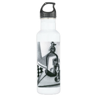 Juan Gris - Still Life with Siphon 24oz Water Bottle