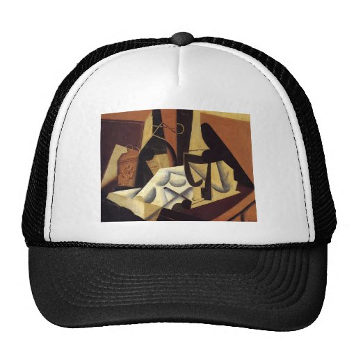 Juan Gris- Still Life with White Tablecloth Mesh Hat