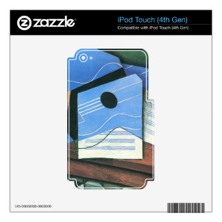 Juan Gris - Table with Guitar iPod Touch 4G Skins