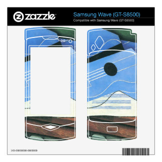 Juan Gris - Table with Guitar Skin For Samsung Wave