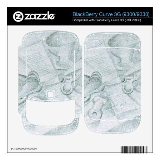 Juan Gris - The Book BlackBerry Curve Decal