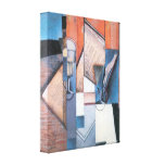 Juan Gris - The book Canvas Print