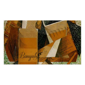 Juan Gris: The Bottle of Banyuls Business Cards