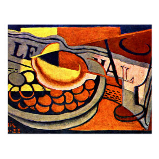 Juan Gris - The Lemon Postcard
