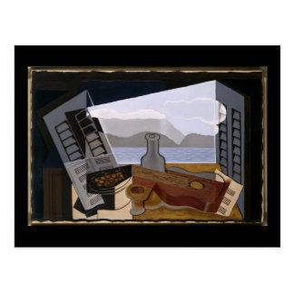 Juan Gris The Open Window Postcard