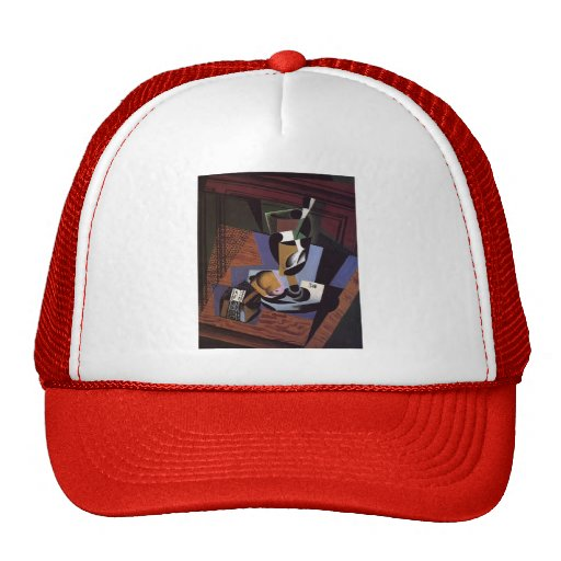 Juan Gris- The Packet of Tobacco Trucker Hats