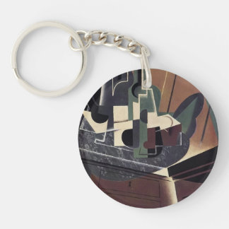 Juan Gris- The Sideboard Single-Sided Round Acrylic Keychain
