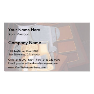 Juan Gris- The Table in Front of the Window Double-Sided Standard Business Cards (Pack Of 100)