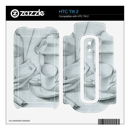 Juan Gris - The tobacco pouch Skin For The HTC Tilt 2