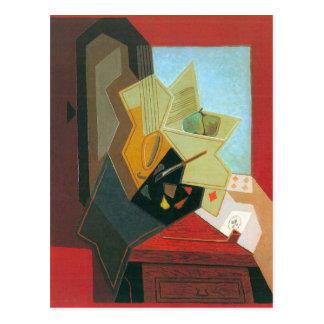 Juan Gris - The window of the painter Postcard