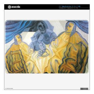 Juan Gris - Three masks MacBook Decal
