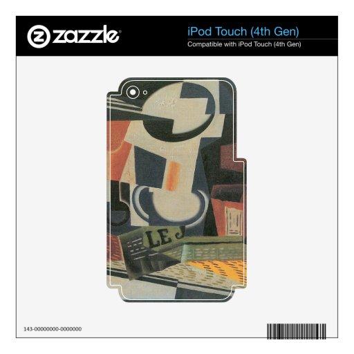 Juan Gris - todavía vida con el cuenco de fruta iPod Touch 4G Skins