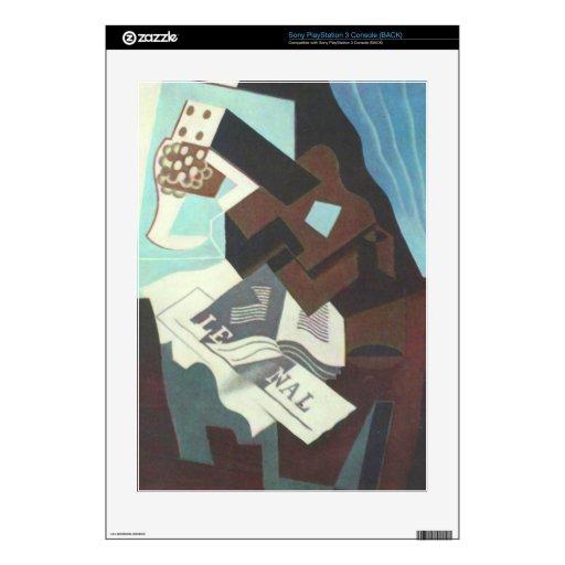 Juan Gris - todavía vida con el libro y el newspa  PS3 Skins