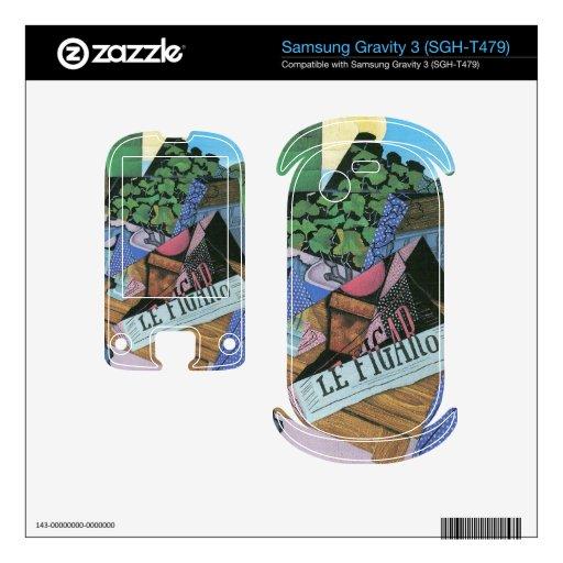 Juan Gris - todavía vida con los geranios Samsung Gravity 3 Skin