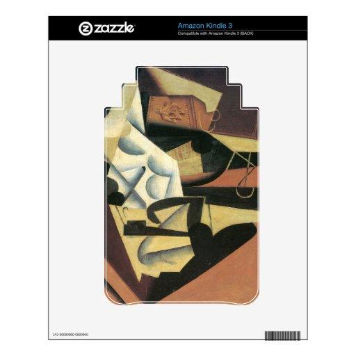 Juan Gris - todavía vida con un mantel blanco Kindle Skins