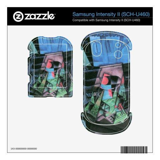Juan Gris - todavía vida y paisaje urbano Samsung Intensity Skin