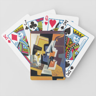 Juan Gris - Violin and Glass - Abstract Art Bicycle Playing Cards