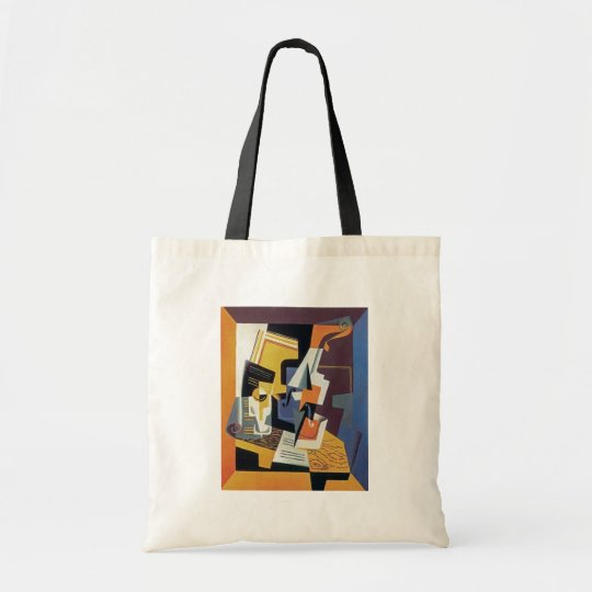 Juan Gris - Violin and Glass - Abstract Art Tote Bag