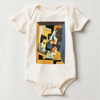 Juan Gris - Violin and Glass Baby Bodysuit