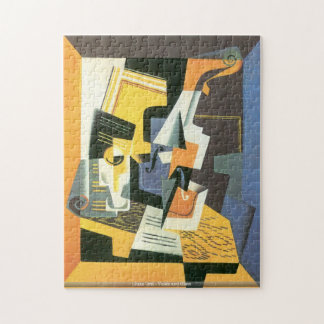 Juan Gris - Violin and Glass puzzle