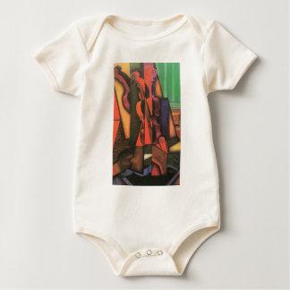 Juan Gris - Violin and guitar Baby Bodysuit