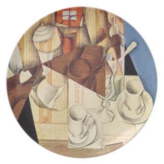 Juan Gris's Breakfast Plate