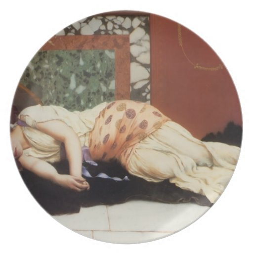 Juan Guillermo Godward- Endymion Plato