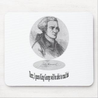 Juan Hancock, firma y cita Alfombrillas De Raton