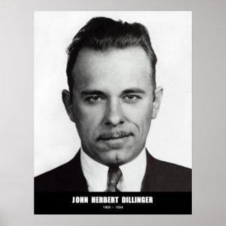 Juan Herberto Dillinger Poster
