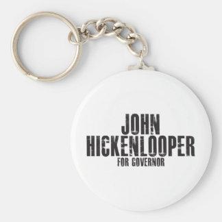Juan Hickenlooper para el gobernador 2010 Llavero Redondo Tipo Pin