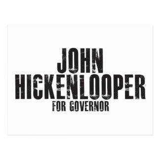 Juan Hickenlooper para el gobernador 2010 Tarjetas Postales
