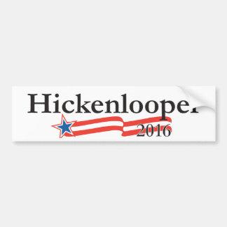 Juan Hickenlooper para el presidente 2016 Pegatina Para Auto