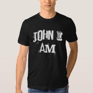 Juan I Johnny no estoy en blanco y negro Polera