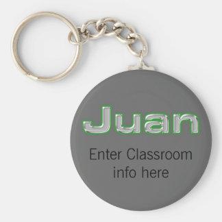 Juan ID Keychain