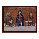 Juan Ii Comnenus, emperador bizantino y su esposa Postales
