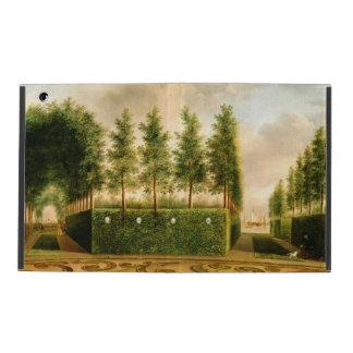 Juan Janson una pintura del vintage del jardín