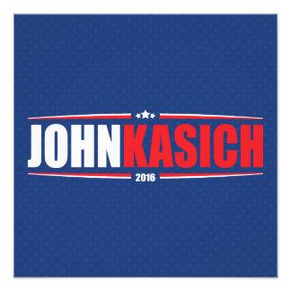 Juan Kasich 2016 (estrellas y rayas - azul) Fotografía