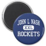 Juan L Nash Rockets Clifton medio Illinois Iman De Nevera