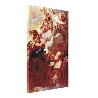 Juan Liss - éxtasis de San Pablo Impresión En Lienzo Estirada