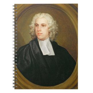 Juan Lloyd, coadjutor de St. Mildred, calle amplia Libreta Espiral